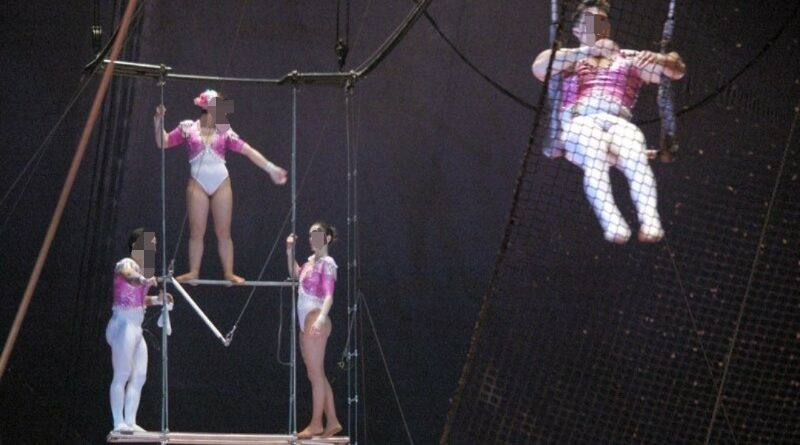 Trapeze artist with diarrhea shits on 23 people